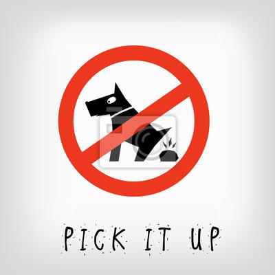 Постер-картина Смешные таблички Знак, запрещающий выгул собакСмешные таблички<br>Постер на холсте или бумаге. Любого нужного вам размера. В раме или без. Подвес в комплекте. Трехслойная надежная упаковка. Доставим в любую точку России. Вам осталось только повесить картину на стену!<br>