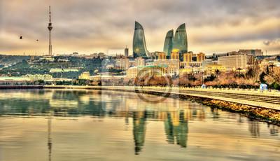 Вид на Баку с Каспийского моря, 35x20 см, на бумагеБаку<br>Постер на холсте или бумаге. Любого нужного вам размера. В раме или без. Подвес в комплекте. Трехслойная надежная упаковка. Доставим в любую точку России. Вам осталось только повесить картину на стену!<br>