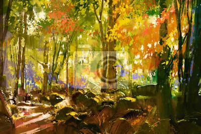 Постер Утро Светлый лес,красивая природа весной,живопись, иллюстрацияУтро<br>Постер на холсте или бумаге. Любого нужного вам размера. В раме или без. Подвес в комплекте. Трехслойная надежная упаковка. Доставим в любую точку России. Вам осталось только повесить картину на стену!<br>