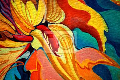 Цветы в современной живописи, картина Декоративный цветок живопись маслом на холсте, иллюстрацияЦветы в современной живописи<br>Репродукция на холсте или бумаге. Любого нужного вам размера. В раме или без. Подвес в комплекте. Трехслойная надежная упаковка. Доставим в любую точку России. Вам осталось только повесить картину на стену!<br>