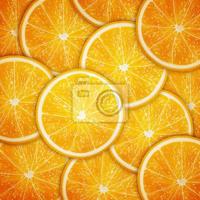 Постер Дизайнерские обои для детской Оранжевый плод ломтиками фонеДизайнерские обои для детской<br>Постер на холсте или бумаге. Любого нужного вам размера. В раме или без. Подвес в комплекте. Трехслойная надежная упаковка. Доставим в любую точку России. Вам осталось только повесить картину на стену!<br>