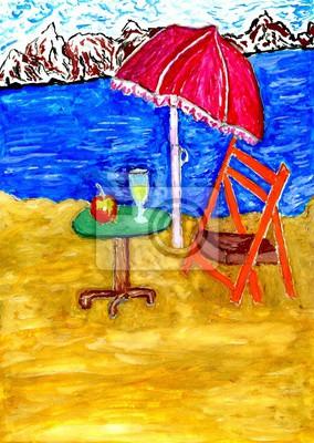 Средиземноморье, современный пейзаж Пляж Сцены ИскусстваСредиземноморье, современный пейзаж<br>Репродукция на холсте или бумаге. Любого нужного вам размера. В раме или без. Подвес в комплекте. Трехслойная надежная упаковка. Доставим в любую точку России. Вам осталось только повесить картину на стену!<br>