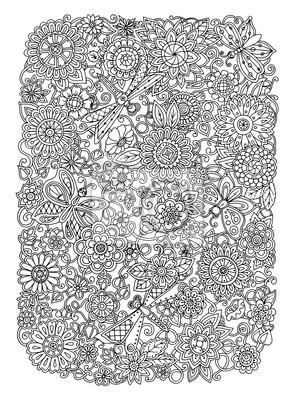 Постер-картина Раскраски антистресс Этническая цветочный zentangle, рисунок фон узор круг в vecРаскраски антистресс<br>Постер на холсте или бумаге. Любого нужного вам размера. В раме или без. Подвес в комплекте. Трехслойная надежная упаковка. Доставим в любую точку России. Вам осталось только повесить картину на стену!<br>