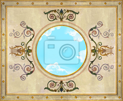 Постер-картина На потолок ПотолокНа потолок<br>Постер на холсте или бумаге. Любого нужного вам размера. В раме или без. Подвес в комплекте. Трехслойная надежная упаковка. Доставим в любую точку России. Вам осталось только повесить картину на стену!<br>