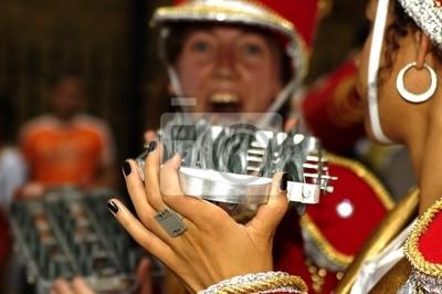 Постер Праздники Musiciens de carnaval, 30x20 см, на бумагеКарнавал в Рио-де-Жанейро<br>Постер на холсте или бумаге. Любого нужного вам размера. В раме или без. Подвес в комплекте. Трехслойная надежная упаковка. Доставим в любую точку России. Вам осталось только повесить картину на стену!<br>