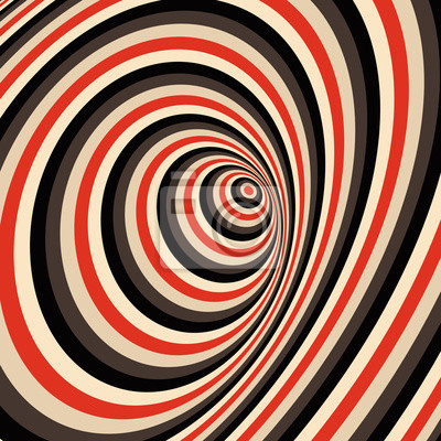 Постер-картина Оптическое искусство Абстрактного фона вихрем. Картина с оптической иллюзией. Векторные иллюстрации. Оптическое искусство<br>Постер на холсте или бумаге. Любого нужного вам размера. В раме или без. Подвес в комплекте. Трехслойная надежная упаковка. Доставим в любую точку России. Вам осталось только повесить картину на стену!<br>