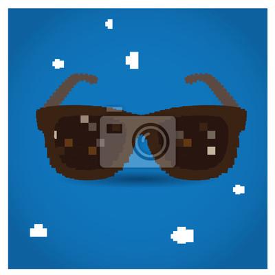 Постер-картина Пиксель-арт 8-битный объектПиксель-арт<br>Постер на холсте или бумаге. Любого нужного вам размера. В раме или без. Подвес в комплекте. Трехслойная надежная упаковка. Доставим в любую точку России. Вам осталось только повесить картину на стену!<br>