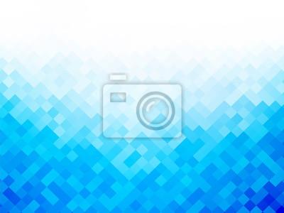 Постер-картина Пиксель-арт Синий белый абстрактный фонПиксель-арт<br>Постер на холсте или бумаге. Любого нужного вам размера. В раме или без. Подвес в комплекте. Трехслойная надежная упаковка. Доставим в любую точку России. Вам осталось только повесить картину на стену!<br>