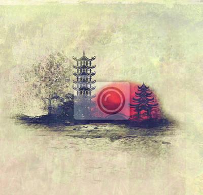 Постер Гора Фудзияма Восход солнца в ЯпонииГора Фудзияма<br>Постер на холсте или бумаге. Любого нужного вам размера. В раме или без. Подвес в комплекте. Трехслойная надежная упаковка. Доставим в любую точку России. Вам осталось только повесить картину на стену!<br>