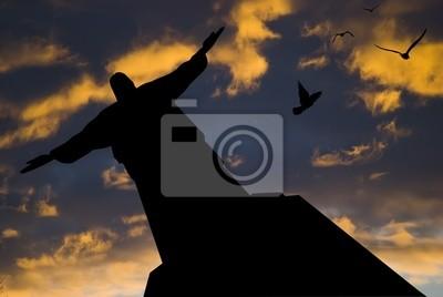 Постер Рио-де-Жанейро Статуя в Рио-де-ЖанейроРио-де-Жанейро<br>Постер на холсте или бумаге. Любого нужного вам размера. В раме или без. Подвес в комплекте. Трехслойная надежная упаковка. Доставим в любую точку России. Вам осталось только повесить картину на стену!<br>