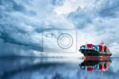 Международные контейнерные Грузовое судно в океане, грузовые перевозки, доставка, морские судна, 30x20 см, на бумагеГрузоперевозки, логистика<br>Постер на холсте или бумаге. Любого нужного вам размера. В раме или без. Подвес в комплекте. Трехслойная надежная упаковка. Доставим в любую точку России. Вам осталось только повесить картину на стену!<br>