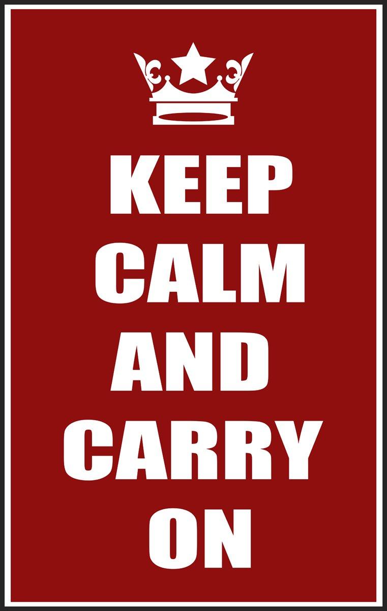 Постер Сохранять спокойствие и вести красныйKeep Calm<br>Постер на холсте или бумаге. Любого нужного вам размера. В раме или без. Подвес в комплекте. Трехслойная надежная упаковка. Доставим в любую точку России. Вам осталось только повесить картину на стену!<br>