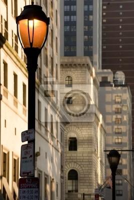 Постер Города и карты Уличный фонарь в центре города, Филадельфия, ПА, 20x30 см, на бумагеФиладельфия<br>Постер на холсте или бумаге. Любого нужного вам размера. В раме или без. Подвес в комплекте. Трехслойная надежная упаковка. Доставим в любую точку России. Вам осталось только повесить картину на стену!<br>
