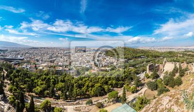 Панорамный вид на Афины, Греция, 35x20 см, на бумагеАфины, Акрополь<br>Постер на холсте или бумаге. Любого нужного вам размера. В раме или без. Подвес в комплекте. Трехслойная надежная упаковка. Доставим в любую точку России. Вам осталось только повесить картину на стену!<br>