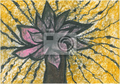 Цветы в современной живописи, картина Графика, цветы, ваза, пастель. Ручной работы ...Цветы в современной живописи<br>Репродукция на холсте или бумаге. Любого нужного вам размера. В раме или без. Подвес в комплекте. Трехслойная надежная упаковка. Доставим в любую точку России. Вам осталось только повесить картину на стену!<br>