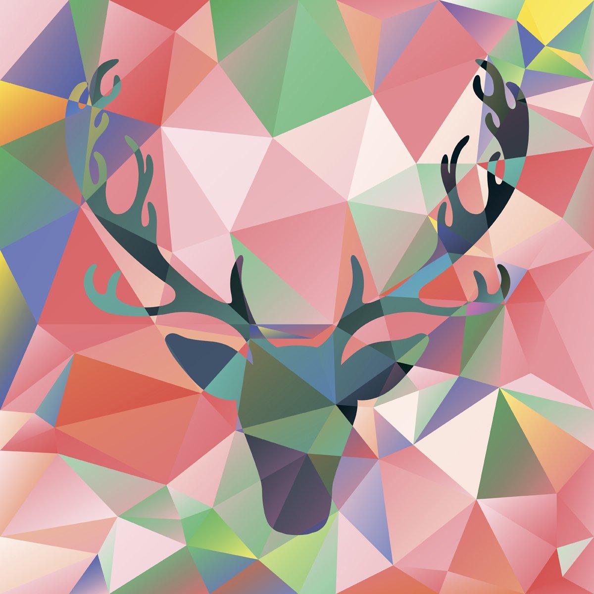Постер-картина Полигональный арт Голова оленя векторная полигональная мозаика абстрактный рисунок лося силуэт фонПолигональный арт<br>Постер на холсте или бумаге. Любого нужного вам размера. В раме или без. Подвес в комплекте. Трехслойная надежная упаковка. Доставим в любую точку России. Вам осталось только повесить картину на стену!<br>