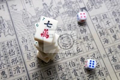 Постер-картина Иероглифы Маджонг - азиатские игрыИероглифы<br>Постер на холсте или бумаге. Любого нужного вам размера. В раме или без. Подвес в комплекте. Трехслойная надежная упаковка. Доставим в любую точку России. Вам осталось только повесить картину на стену!<br>