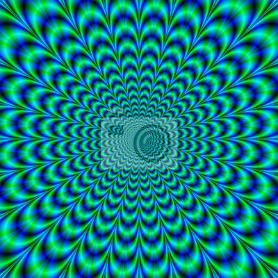 Постер-картина Оптическое искусство Оптически сложных мозга Buster / цифровое фрактальное изображение с оптически сложных дизайн в зеленый, синий и бирюзовый.Оптическое искусство<br>Постер на холсте или бумаге. Любого нужного вам размера. В раме или без. Подвес в комплекте. Трехслойная надежная упаковка. Доставим в любую точку России. Вам осталось только повесить картину на стену!<br>