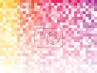 Постер-картина Пиксель-арт Красочный мозаичный узорПиксель-арт<br>Постер на холсте или бумаге. Любого нужного вам размера. В раме или без. Подвес в комплекте. Трехслойная надежная упаковка. Доставим в любую точку России. Вам осталось только повесить картину на стену!<br>
