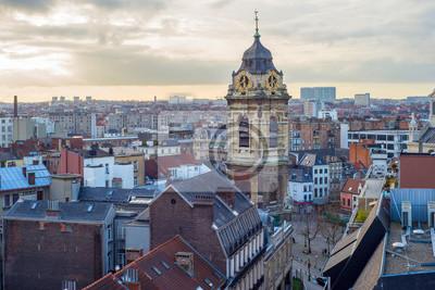 Городской пейзаж Брюсселя, 30x20 см, на бумагеБрюссель<br>Постер на холсте или бумаге. Любого нужного вам размера. В раме или без. Подвес в комплекте. Трехслойная надежная упаковка. Доставим в любую точку России. Вам осталось только повесить картину на стену!<br>