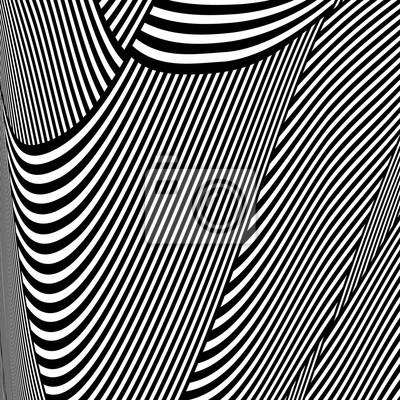 Постер-картина Оптическое искусство ОП-арт узор. Линии текстуры.Оптическое искусство<br>Постер на холсте или бумаге. Любого нужного вам размера. В раме или без. Подвес в комплекте. Трехслойная надежная упаковка. Доставим в любую точку России. Вам осталось только повесить картину на стену!<br>