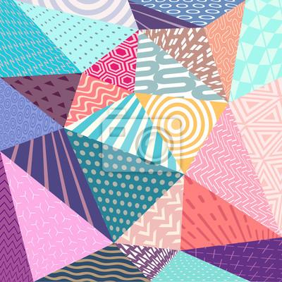 Постер-картина Полигональный арт Абстрактные 3D геометрические элементыПолигональный арт<br>Постер на холсте или бумаге. Любого нужного вам размера. В раме или без. Подвес в комплекте. Трехслойная надежная упаковка. Доставим в любую точку России. Вам осталось только повесить картину на стену!<br>