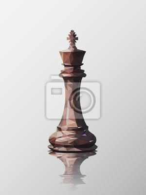 Постер-картина Полигональный арт Король Лоу полиПолигональный арт<br>Постер на холсте или бумаге. Любого нужного вам размера. В раме или без. Подвес в комплекте. Трехслойная надежная упаковка. Доставим в любую точку России. Вам осталось только повесить картину на стену!<br>