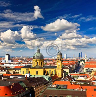 Вид с воздуха на Munich city центр, 20x20 см, на бумагеМюнхен<br>Постер на холсте или бумаге. Любого нужного вам размера. В раме или без. Подвес в комплекте. Трехслойная надежная упаковка. Доставим в любую точку России. Вам осталось только повесить картину на стену!<br>
