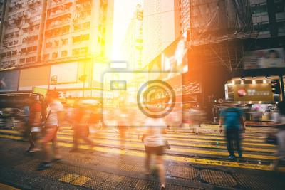 Город боке улица Гонконг causeway Bay в, 30x20 см, на бумагеПанорамные виды городов (улицы, люди, машины)<br>Постер на холсте или бумаге. Любого нужного вам размера. В раме или без. Подвес в комплекте. Трехслойная надежная упаковка. Доставим в любую точку России. Вам осталось только повесить картину на стену!<br>