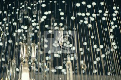 Постер Дождь Стеклянный дождь из светящихся кристаллов. Абстрактные картины алмазный дождь линии. Искусство современный стильДождь<br>Постер на холсте или бумаге. Любого нужного вам размера. В раме или без. Подвес в комплекте. Трехслойная надежная упаковка. Доставим в любую точку России. Вам осталось только повесить картину на стену!<br>