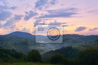 Постер Туман Красивая от природы с туманом и облаками на закатеТуман<br>Постер на холсте или бумаге. Любого нужного вам размера. В раме или без. Подвес в комплекте. Трехслойная надежная упаковка. Доставим в любую точку России. Вам осталось только повесить картину на стену!<br>