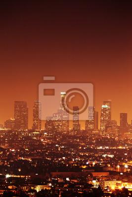 Постер Лос-Анджелес Downtown Лос-Анджелес skylineЛос-Анджелес<br>Постер на холсте или бумаге. Любого нужного вам размера. В раме или без. Подвес в комплекте. Трехслойная надежная упаковка. Доставим в любую точку России. Вам осталось только повесить картину на стену!<br>