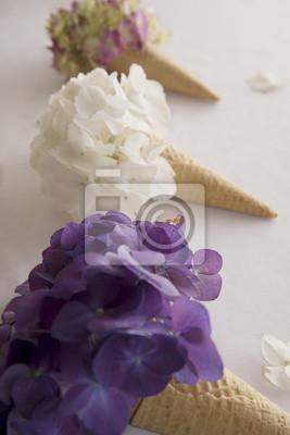 Постер Цветы Мороженое цветы, 20x30 см, на бумагеФиалки<br>Постер на холсте или бумаге. Любого нужного вам размера. В раме или без. Подвес в комплекте. Трехслойная надежная упаковка. Доставим в любую точку России. Вам осталось только повесить картину на стену!<br>