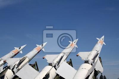Постер Праздники Четыре ракеты готовы, 30x20 см, на бумаге08.12 День ВВС<br>Постер на холсте или бумаге. Любого нужного вам размера. В раме или без. Подвес в комплекте. Трехслойная надежная упаковка. Доставим в любую точку России. Вам осталось только повесить картину на стену!<br>