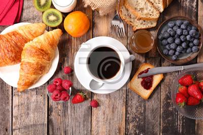 Завтрак с кофе,круассанами и фруктами, 30x20 см, на бумагеРесторан, кафе<br>Постер на холсте или бумаге. Любого нужного вам размера. В раме или без. Подвес в комплекте. Трехслойная надежная упаковка. Доставим в любую точку России. Вам осталось только повесить картину на стену!<br>