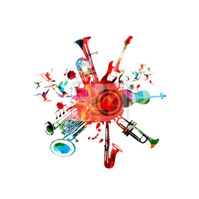 Постер Оформление офиса Музыкальный плакат с музыкальными инструментами. Красочные эуфониум, двойной колокол эуфониум, саксофон, труба, виолончель и гитара с нотами изолированные векторные иллюстрации дизайн, 20x20 см, на бумагеМузыка<br>Постер на холсте или бумаге. Любого нужного вам размера. В раме или без. Подвес в комплекте. Трехслойная надежная упаковка. Доставим в любую точку России. Вам осталось только повесить картину на стену!<br>
