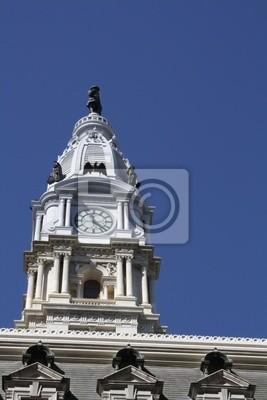 Постер Филадельфия City Hall, Филадельфия, ПАФиладельфия<br>Постер на холсте или бумаге. Любого нужного вам размера. В раме или без. Подвес в комплекте. Трехслойная надежная упаковка. Доставим в любую точку России. Вам осталось только повесить картину на стену!<br>