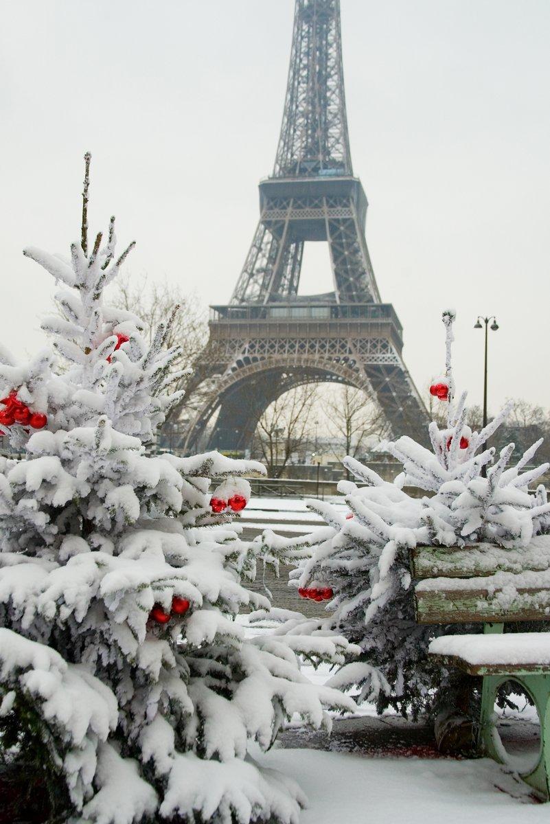 Постер Париж Редкий снежный день в ПарижеПариж<br>Постер на холсте или бумаге. Любого нужного вам размера. В раме или без. Подвес в комплекте. Трехслойная надежная упаковка. Доставим в любую точку России. Вам осталось только повесить картину на стену!<br>