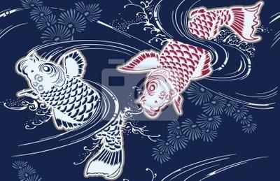 Постер Животные Постер 19836621, 31x20 см, на бумагеРыбы - японский карп<br>Постер на холсте или бумаге. Любого нужного вам размера. В раме или без. Подвес в комплекте. Трехслойная надежная упаковка. Доставим в любую точку России. Вам осталось только повесить картину на стену!<br>