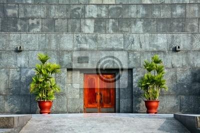Постер Ханой Ho Chi Minh Mausoleum ДверьХаной<br>Постер на холсте или бумаге. Любого нужного вам размера. В раме или без. Подвес в комплекте. Трехслойная надежная упаковка. Доставим в любую точку России. Вам осталось только повесить картину на стену!<br>