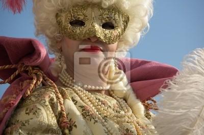 Венецианский Карнавал Masks_0086, 30x20 см, на бумагеКарнавал в Венеции<br>Постер на холсте или бумаге. Любого нужного вам размера. В раме или без. Подвес в комплекте. Трехслойная надежная упаковка. Доставим в любую точку России. Вам осталось только повесить картину на стену!<br>