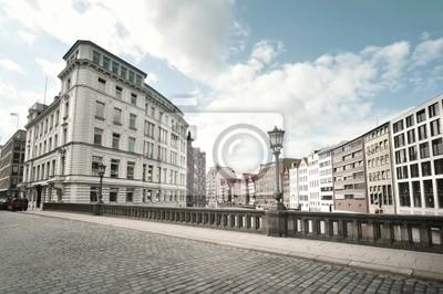 Street view от Гамбург, Германия, 30x20 см, на бумагеГамбург<br>Постер на холсте или бумаге. Любого нужного вам размера. В раме или без. Подвес в комплекте. Трехслойная надежная упаковка. Доставим в любую точку России. Вам осталось только повесить картину на стену!<br>