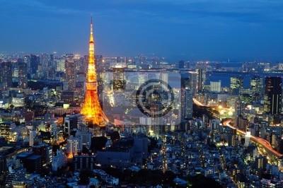 Постер Токио Башня Токио в синее небоТокио<br>Постер на холсте или бумаге. Любого нужного вам размера. В раме или без. Подвес в комплекте. Трехслойная надежная упаковка. Доставим в любую точку России. Вам осталось только повесить картину на стену!<br>