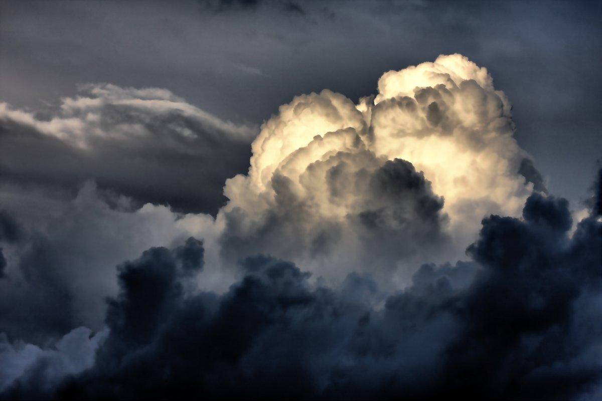 "Постер Ураган, буря, торнадо ""Грозовые тучи"" от Artwall"