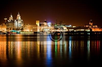 Постер Ливерпуль Ночное время Liverpool cityЛиверпуль<br>Постер на холсте или бумаге. Любого нужного вам размера. В раме или без. Подвес в комплекте. Трехслойная надежная упаковка. Доставим в любую точку России. Вам осталось только повесить картину на стену!<br>