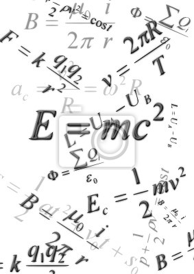 Постер Постер 24657890, 20x28 см, на бумагеФормула Эйнштейна<br>Постер на холсте или бумаге. Любого нужного вам размера. В раме или без. Подвес в комплекте. Трехслойная надежная упаковка. Доставим в любую точку России. Вам осталось только повесить картину на стену!<br>