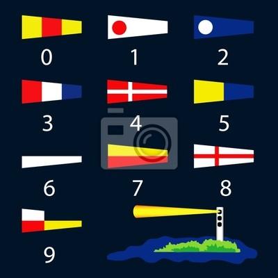 Постер Морские сигнальные флаги - номерМеждународные морские сигнальные флаги<br>Постер на холсте или бумаге. Любого нужного вам размера. В раме или без. Подвес в комплекте. Трехслойная надежная упаковка. Доставим в любую точку России. Вам осталось только повесить картину на стену!<br>