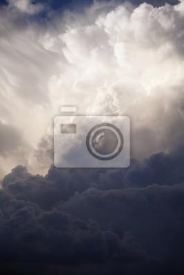 "Постер Ураган, буря, торнадо ""Драматичное небо"" от Artwall"