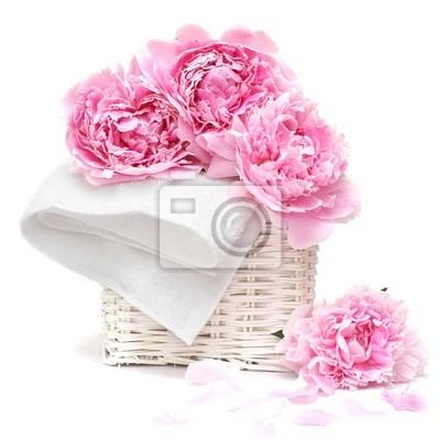 Постер Пионы Красивый нежно-розовый цветок макроПионы<br>Постер на холсте или бумаге. Любого нужного вам размера. В раме или без. Подвес в комплекте. Трехслойная надежная упаковка. Доставим в любую точку России. Вам осталось только повесить картину на стену!<br>
