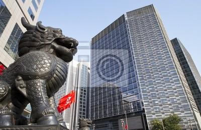 Постер Пекин Финансовая улица в Пекине, КитайПекин<br>Постер на холсте или бумаге. Любого нужного вам размера. В раме или без. Подвес в комплекте. Трехслойная надежная упаковка. Доставим в любую точку России. Вам осталось только повесить картину на стену!<br>